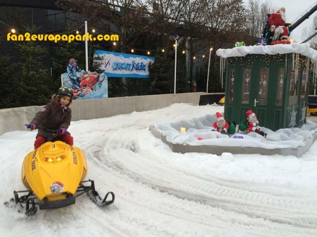 Mini-scooter des neiges