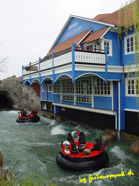 Fjord-Rafting