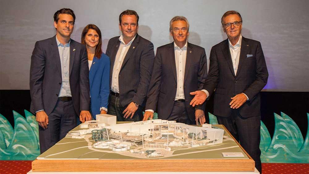 L'équipe de direction d'Europa-Park