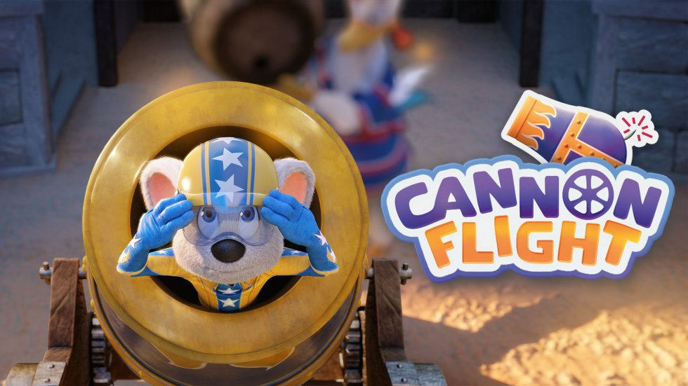 Cannon Flight Game