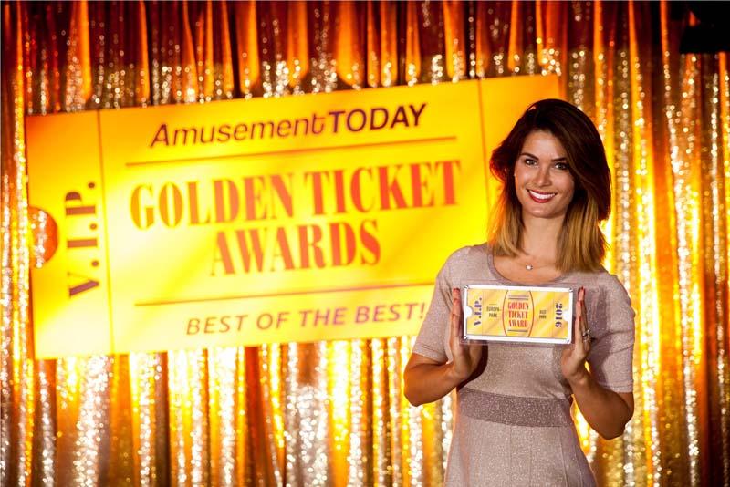 Triplé gagnant pour Europa-Park « aux Golden Ticket Awards » 2016
