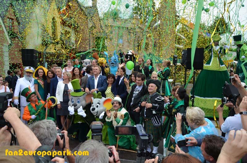 Ouverture officielle du nouveau quartier irlandais