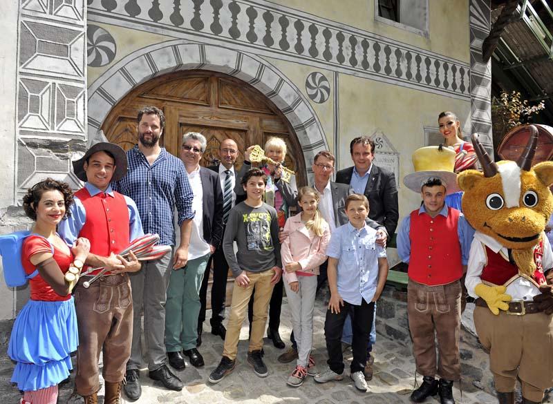 """Nouveauté 2016 dans le quartier suisse – """"Maison d'Ursli"""""""