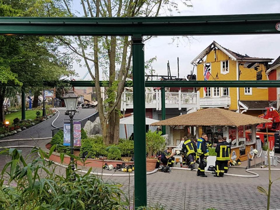 Europa-Park - Incendie du 26 mai 2018; Sprüngli feront route ensemble