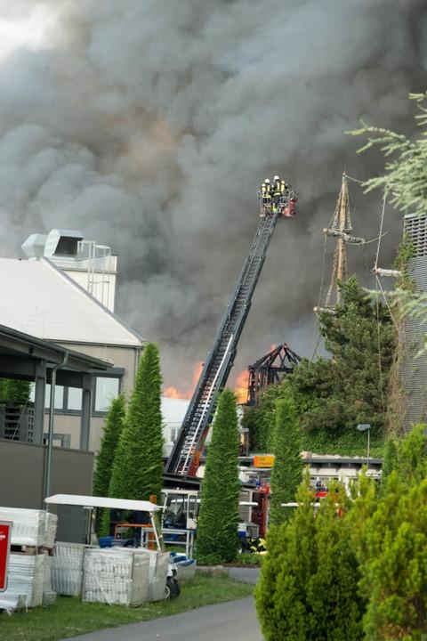 Europa-Park - Incendie du 26 mai 2018