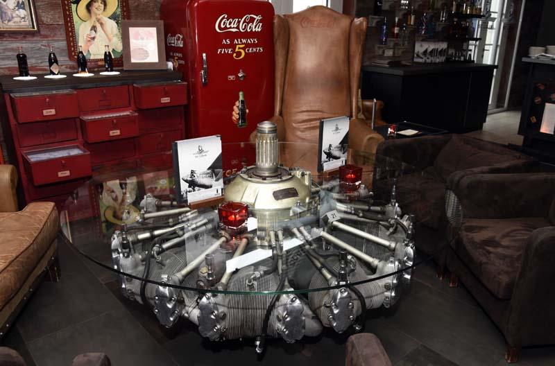 Le bar Spirit of St. Louis de l'hôtel Bell Rock