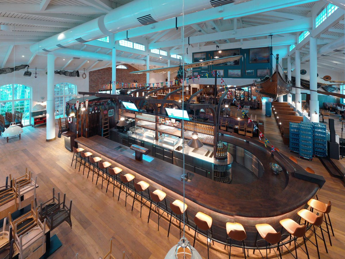 Construction de l'Hôtel KRØNASÅR, Le restaurant « Bubba Svens »