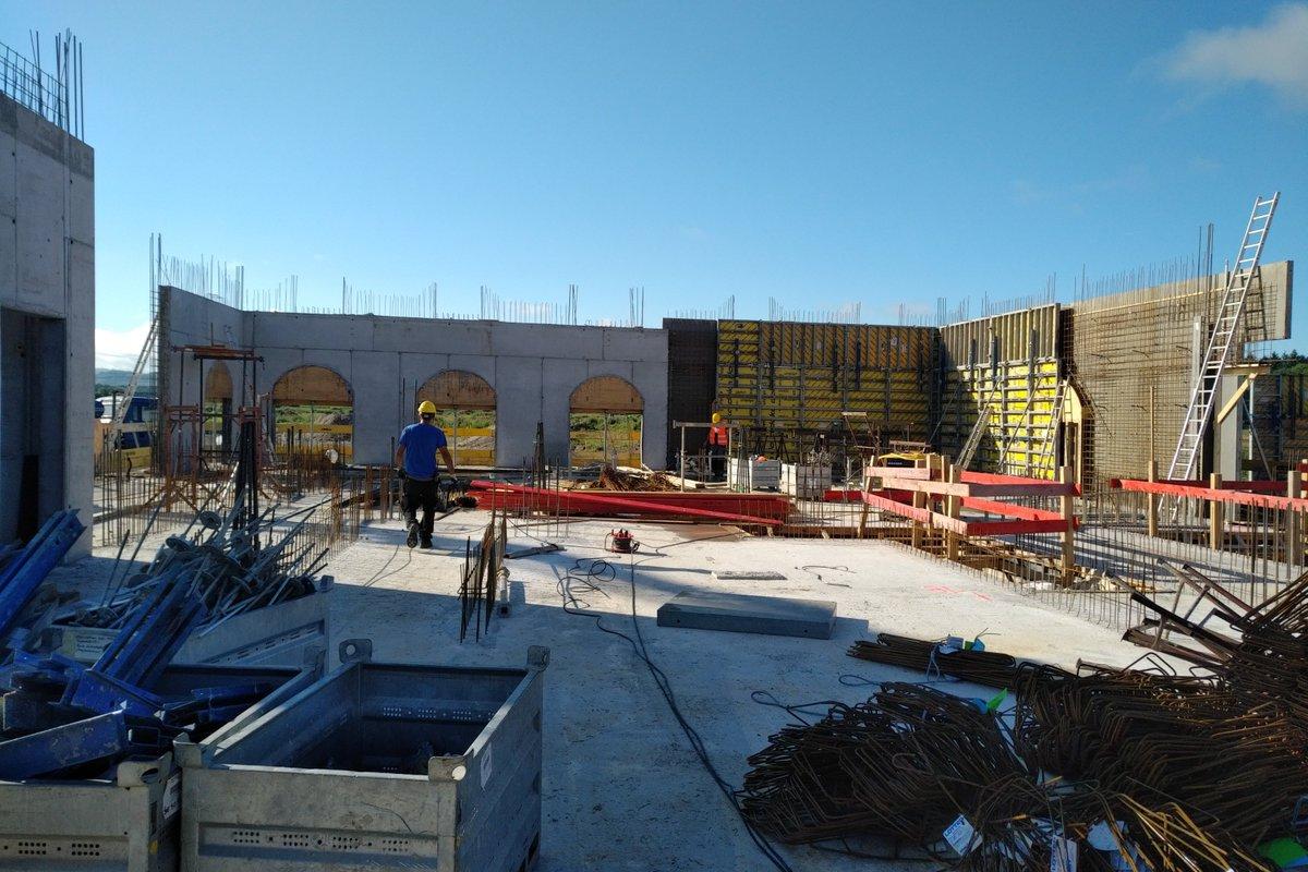 Construction de l'Hôtel KRØNASÅR