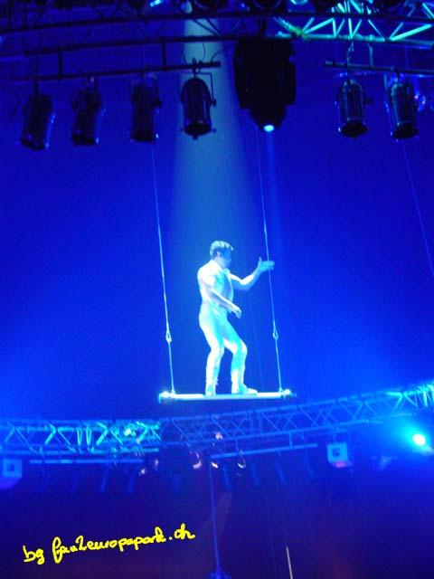 Alain Alegria au trapèze de Washington
